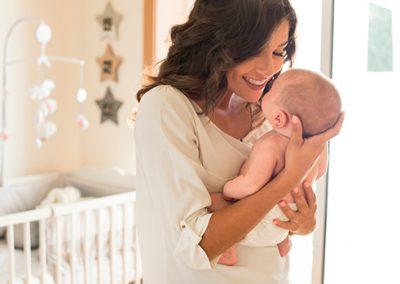 Fragancias y la memoria olfativa del bebé